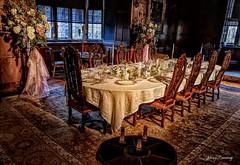 Georgian Dining Room & Table Setting 660hdr-1