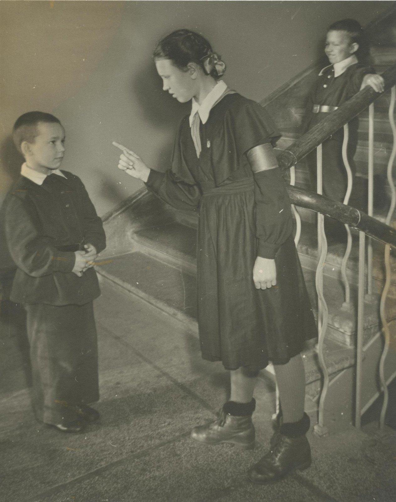 1955. Школьная дежурная