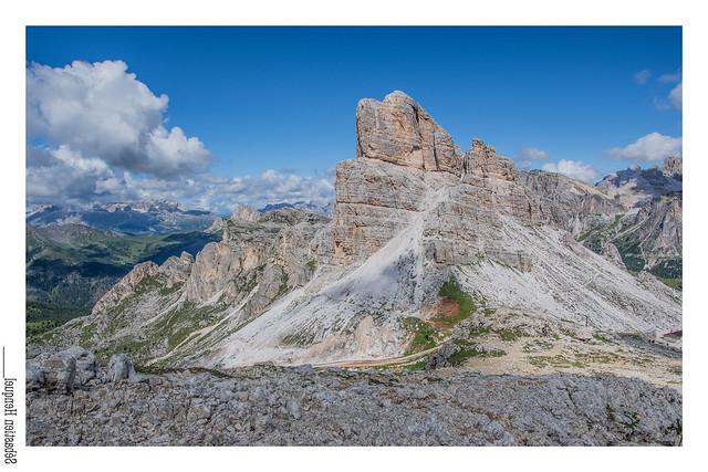 Quelque part dans les Dolomites (Cinque Torri)