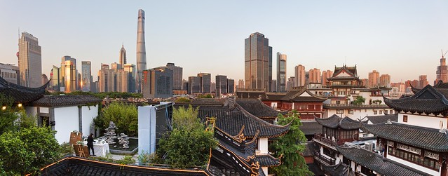 From Yuyuan rooftops