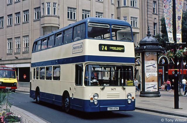 TRN471V Sheffield Omnibus 1471