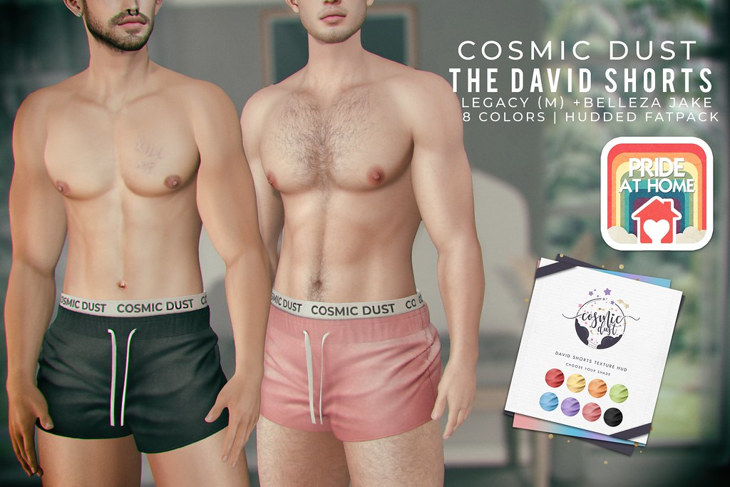 [Cosmic Dust] – David Shorts @ Mainstore for Pride At Home