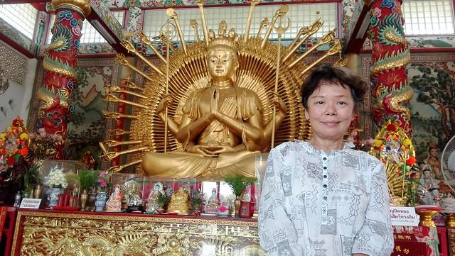ศาลพระโพธิสัตว์ภาคพันเนตรพันกร ชลบุรี