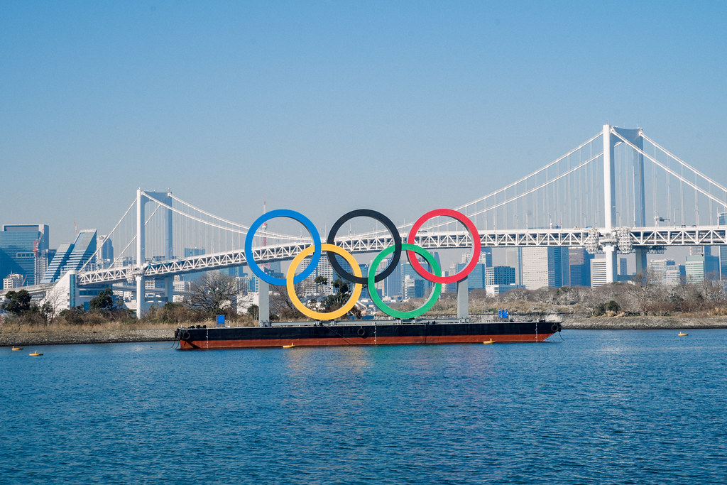 Tokyo 2020 Olympic Games: Monument of Olympic Rings