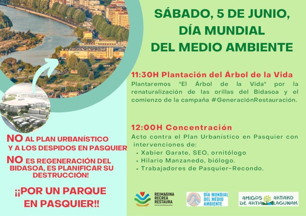 cartel 5 de junio dia mundial del medio ambiente 2021