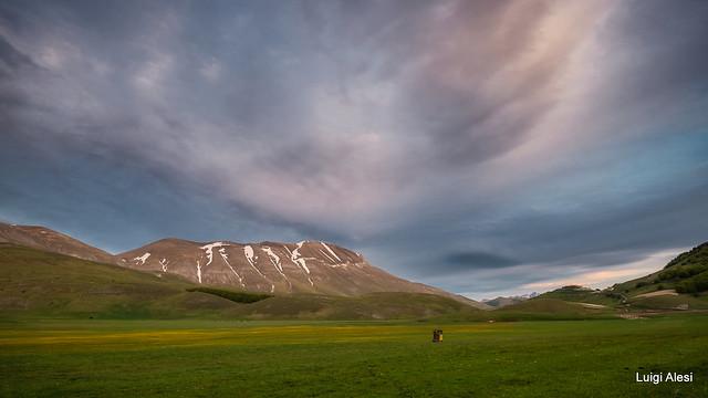 Sibillini national park - Pian Perduto e monte Vettore