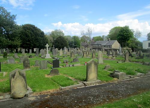 St Nicholas Churchyard, Cramlington, Northumberland