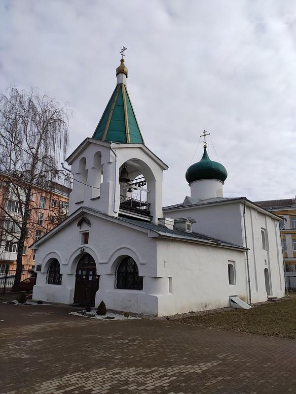 Псков - Церковь Преполовения Пятидесятницы