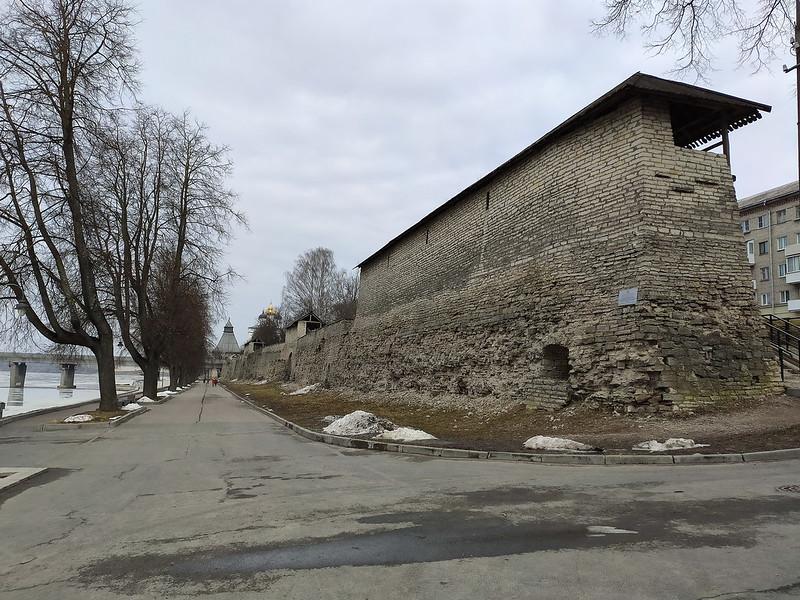 Псков - Крепостная стена
