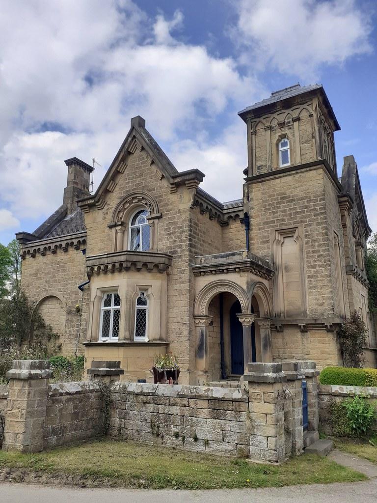 Norman Villa Edensor Derbyshire