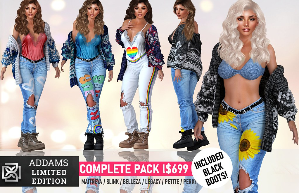 💛Addams @ June Level Event – Naima Limited Edition & Giveaway!