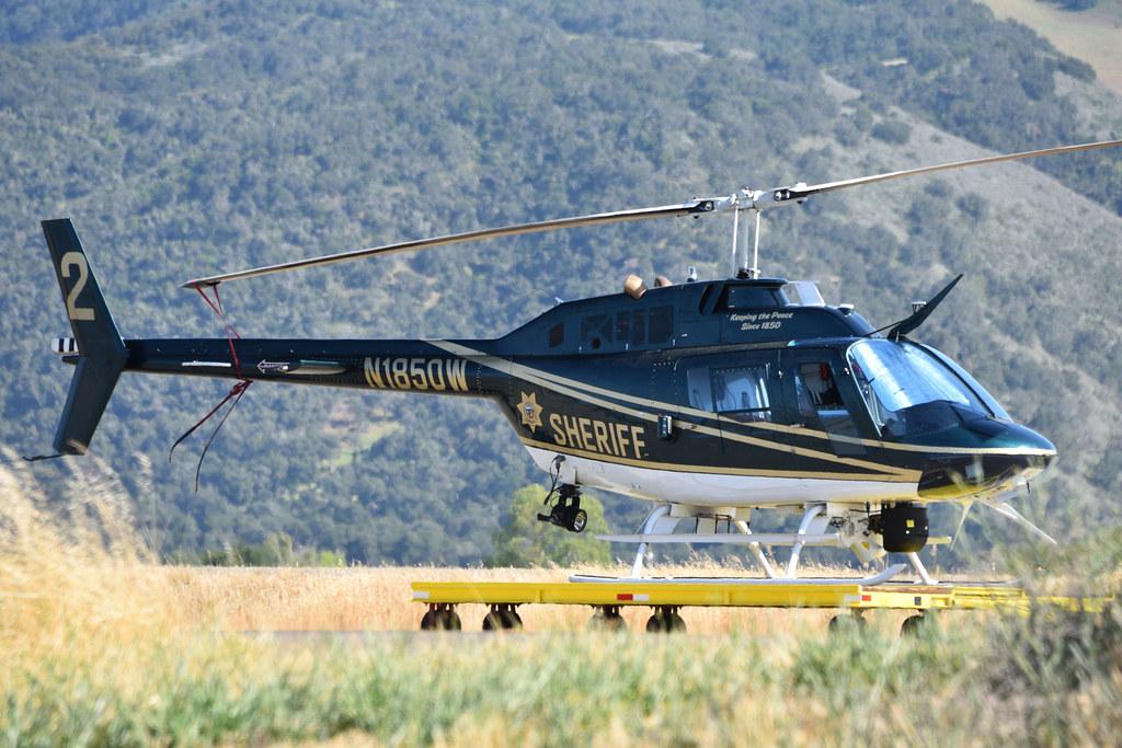 OH-58A N1850W at IZA
