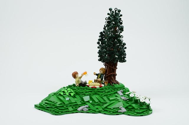 Hobbiton Collaboration: Picnic in the Shire