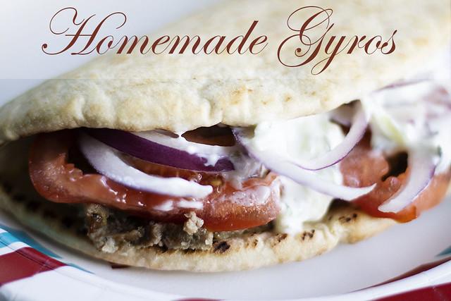 Homemade Gyros