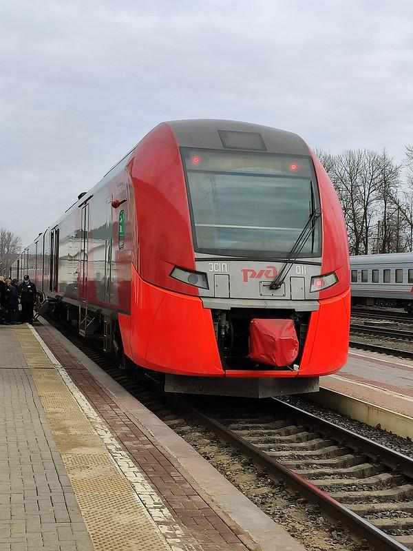Псков - Электропоезд Ласточка