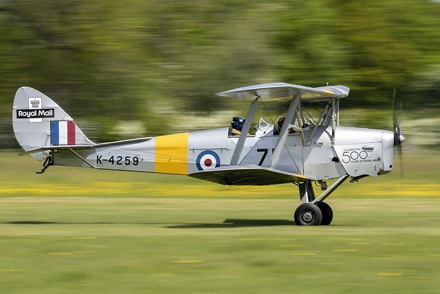 De Havilland DH82 Tiger Moth. G-ANMO / K4259.