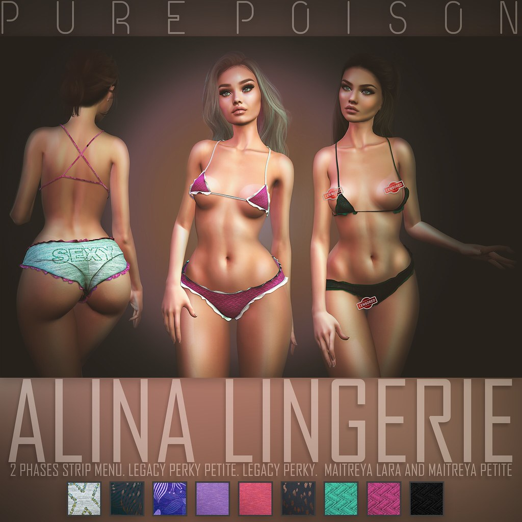 Pure Poison – Alina Lingerie – at KINKY