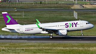 Sky Airline A320-251N msn 10226 F-WWDA / CC-DBE