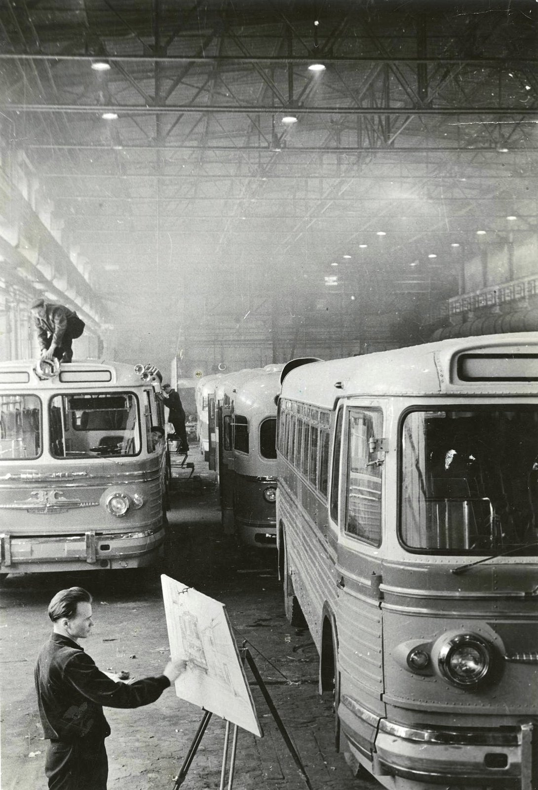 1955. Завод им. Лихачева. ИЗО студия