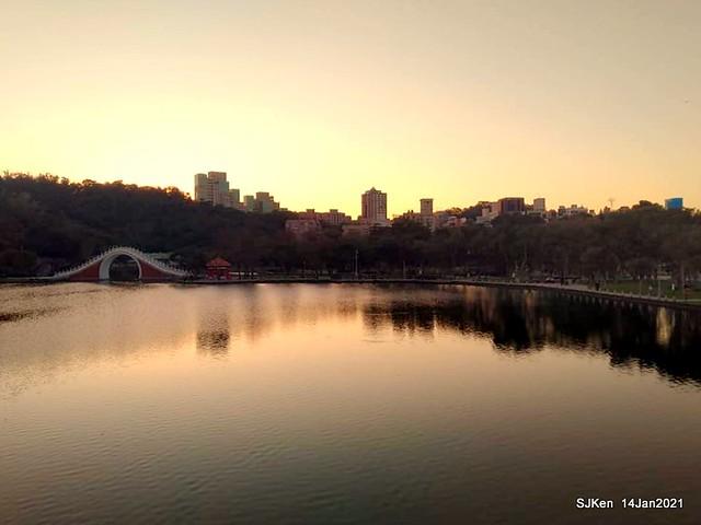 「大湖公園」(Big lake park), Taipei, Taiwan, Jan 24, 2021, SJKen.