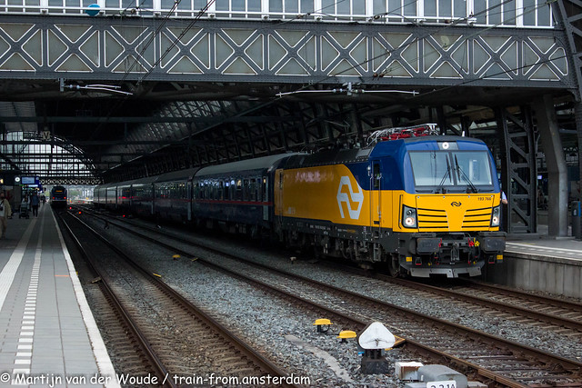 20210509_NL_Amsterdam-Centraal_NS International 193 766 with Test Nightjet 13413
