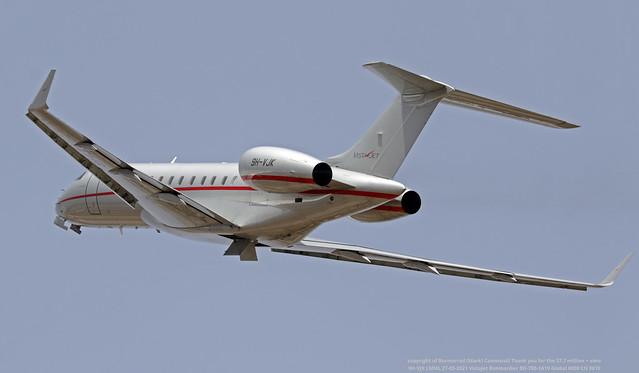 9H-VJK LMML 27-05-2021 VistaJet Bombardier BD-700-1A10 Global 6000 CN 9610