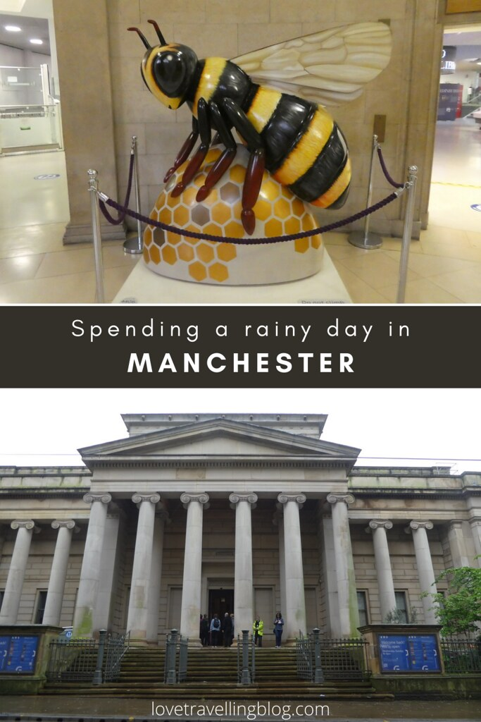 Spending a rainy day in Manchester, UK