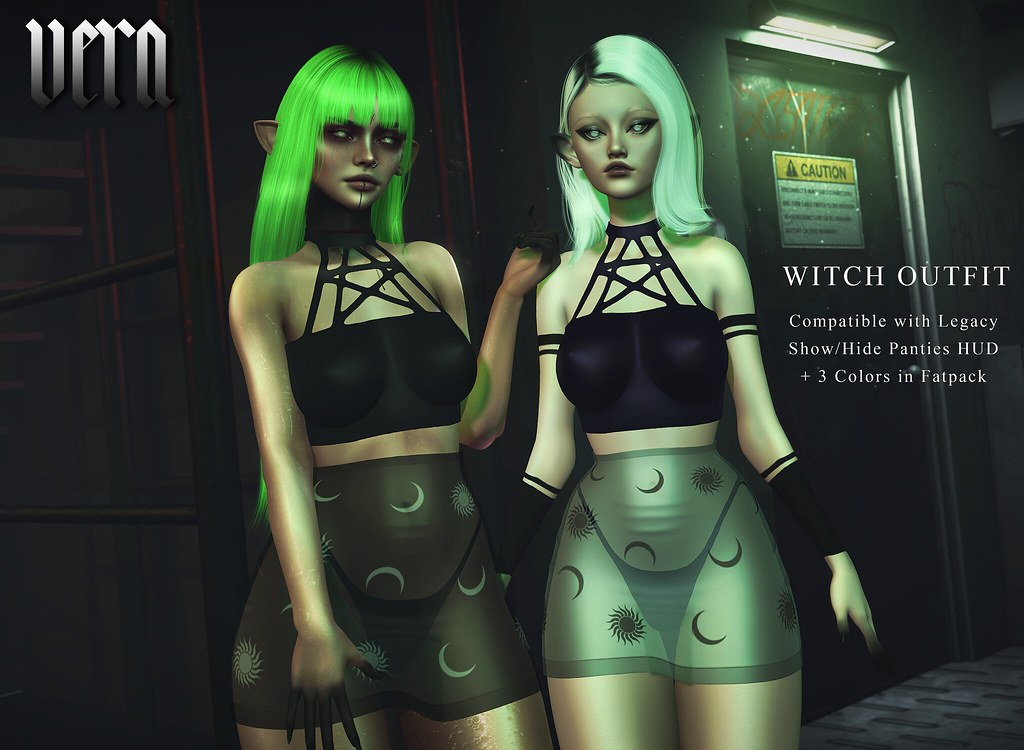 VERA – Witch Outfit @RITUAL
