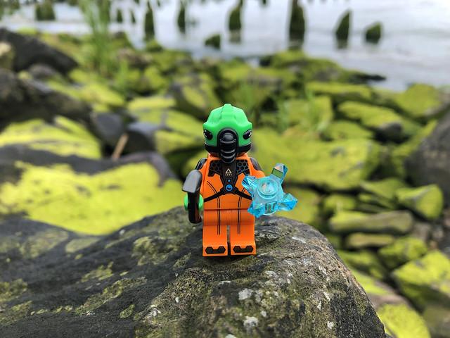 LEGO Collectible Minifigures Series 21 : Alien