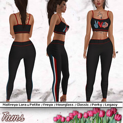 Crop Top and Sports Pants - Gloria