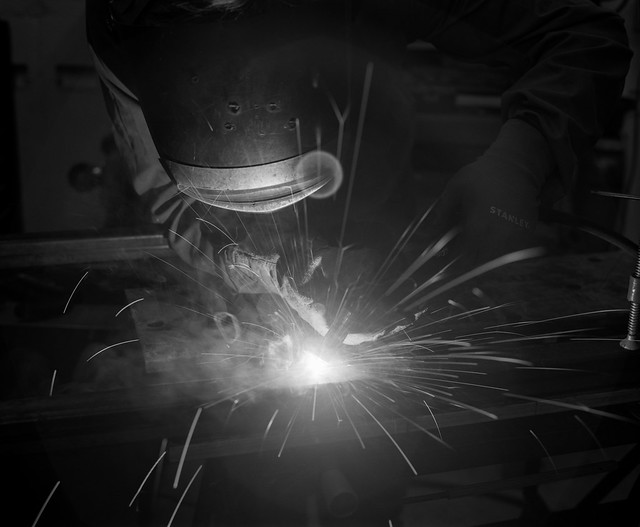 Day 135 (15th May) - MIG Welding