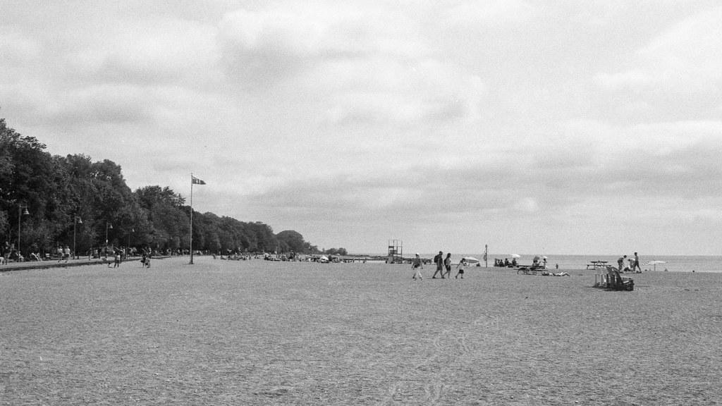 Partly Cloudy at Leuty Beach