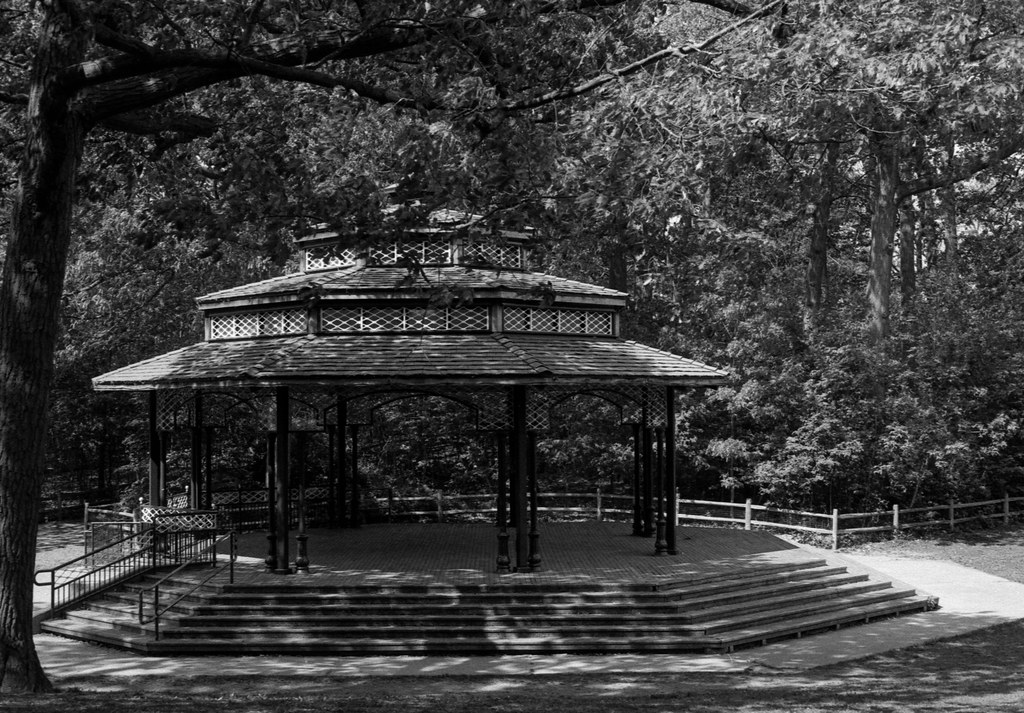 Kew Gardens Stage in the Morning Sun