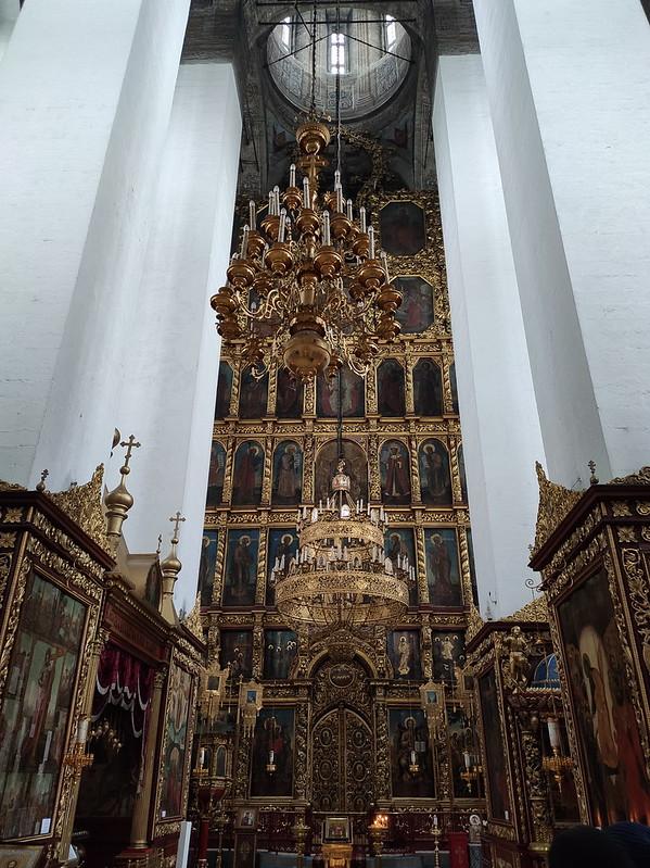 Псковский кремль (Кром) - Троицкий собор - Алтарь
