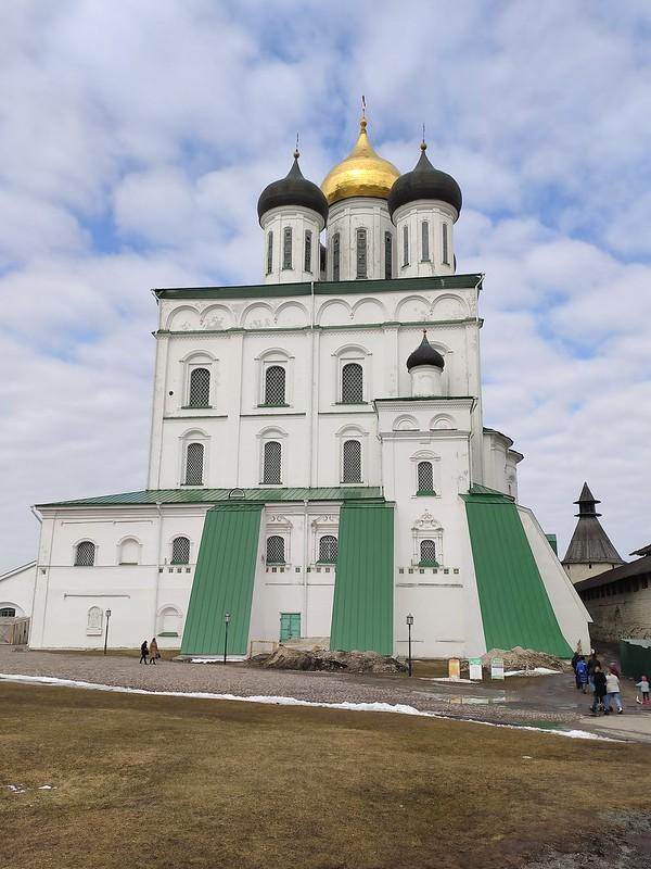 Псковский кремль (Кром) - Троицкий собор