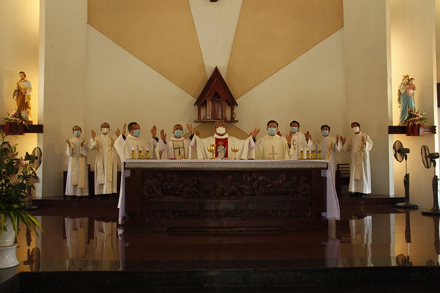 Thánh lễ bế giảng năm học 2020-2021