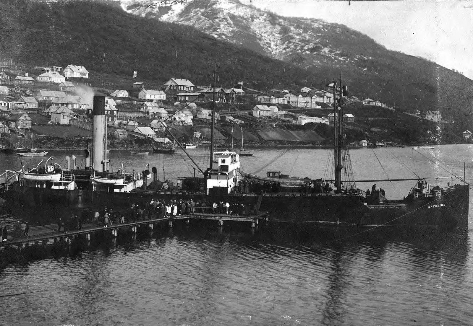 1910. У пристани Добровольного флота