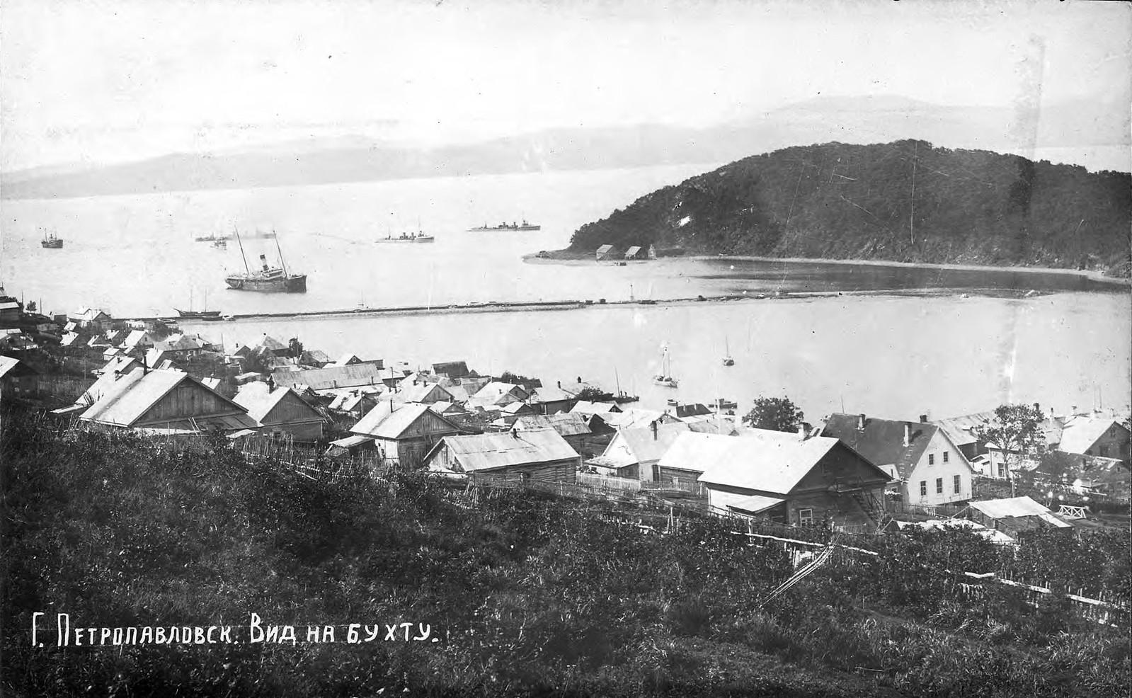 1910. Вид на бухту