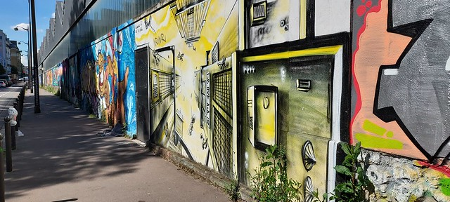 Fresques et peintures de rue côté sud24
