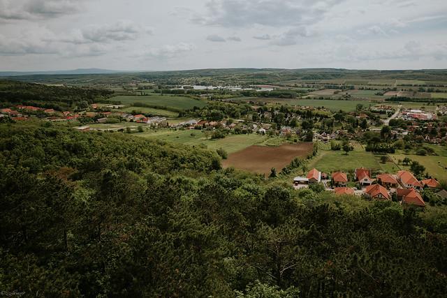 Pannonhalma view