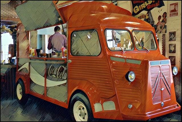 furgoneta bar