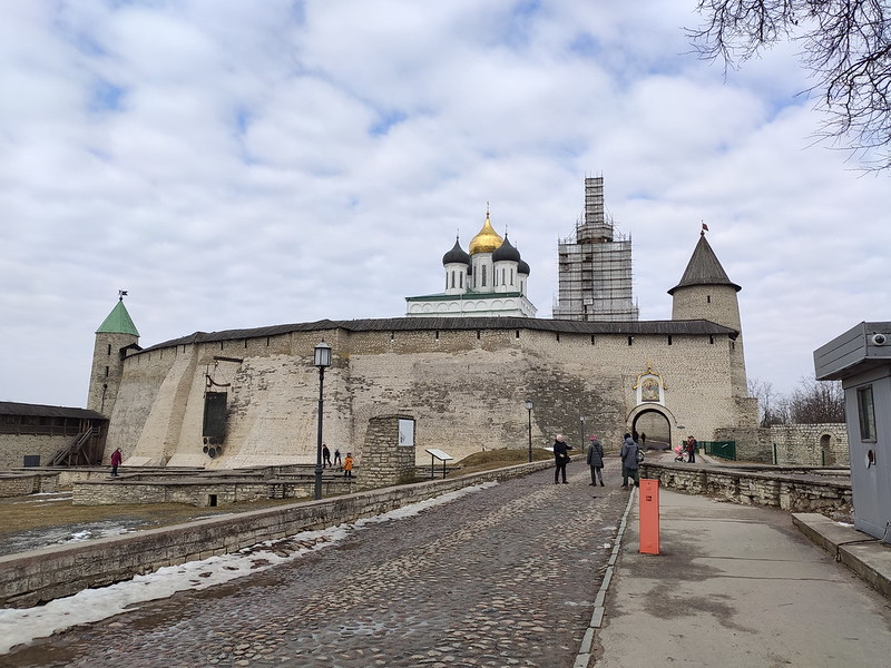 Псковский кремль (Кром) - Перси