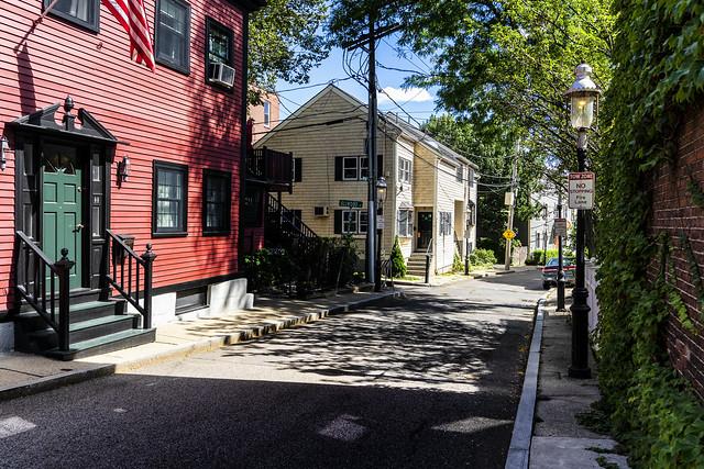 Homes on Side Street