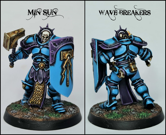 Min Sun of the Wave Breakers Stormhost (Warhammer: Age of Sigmar, Stormcast Eternals)