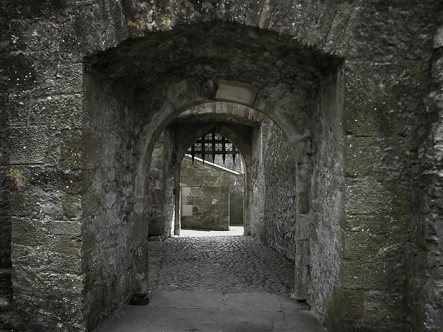Mysterious Hallways - Cahir Castle, County Tipperary Ireland – ca. 1142