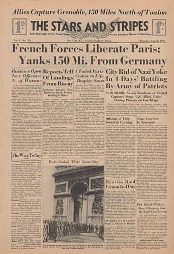 Kislak Collection: Liberation of Paris After WWII