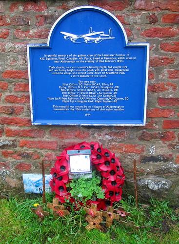 Air Crash Memorial, Aldborough