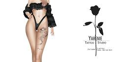 Dragon Leg Tattoo (unisex)