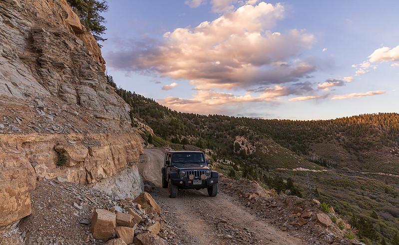 Above Railroad Canyon