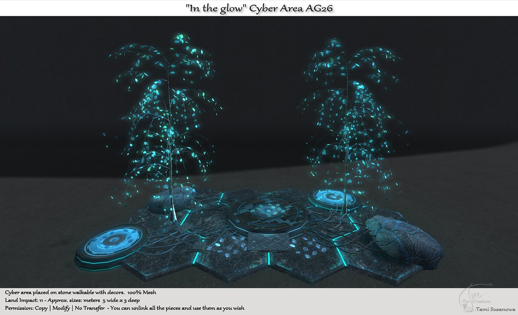 """.:Tm:.Creation """"In the glow"""" Cyber Area AG26"""